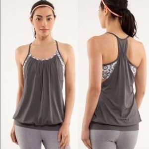 Lululemon no limits tank top , size 8